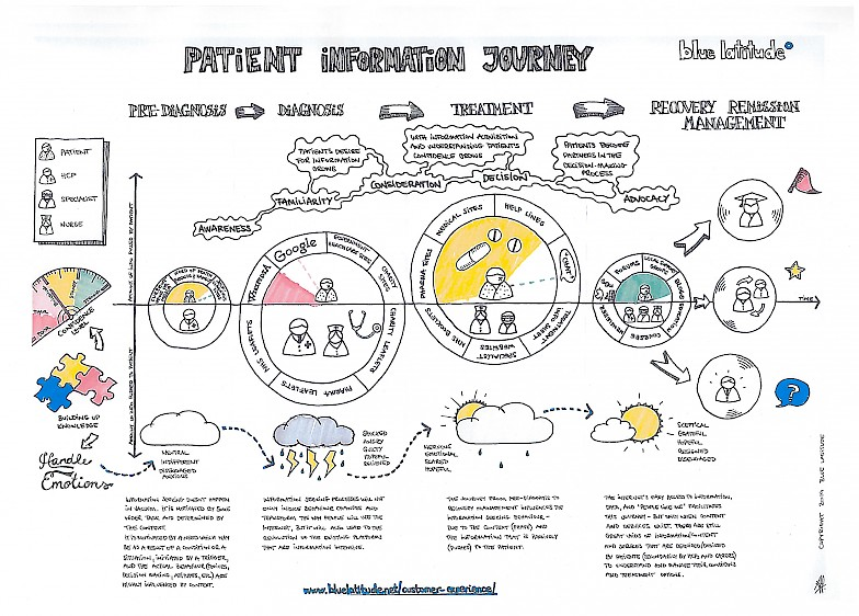 the patient information journey blue latitude health