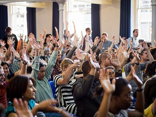 UX Camp - show of hands